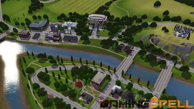 Riverview Sims-3