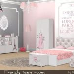 french-teen-decor-room-sims4